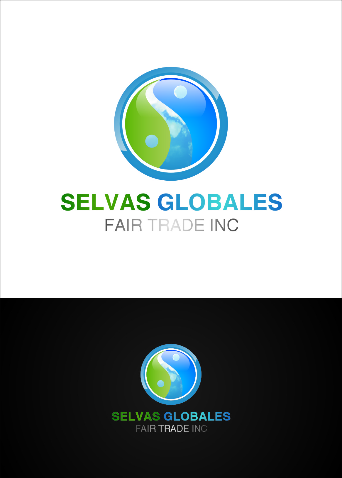 Logo Design by RasYa Muhammad Athaya - Entry No. 127 in the Logo Design Contest Captivating Logo Design for Selvas Globales Fair Trade Inc..