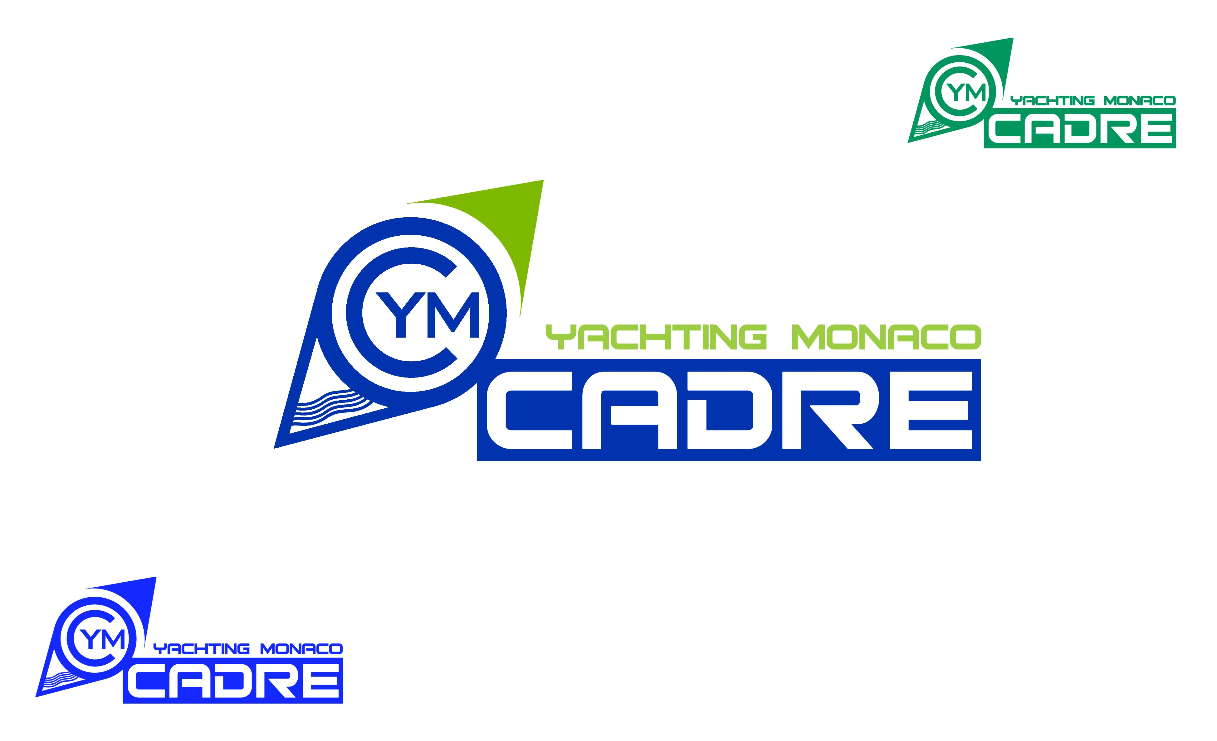 Logo Design by Cesar III Sotto - Entry No. 247 in the Logo Design Contest New Logo Design for Cadre Yachting Monaco.