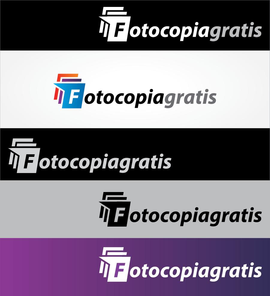 Logo Design by Private User - Entry No. 155 in the Logo Design Contest Inspiring Logo Design for Fotocopiagratis.