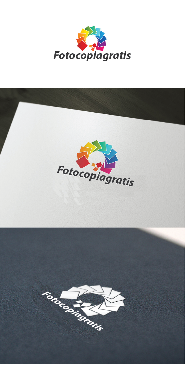 Logo Design by Private User - Entry No. 156 in the Logo Design Contest Inspiring Logo Design for Fotocopiagratis.