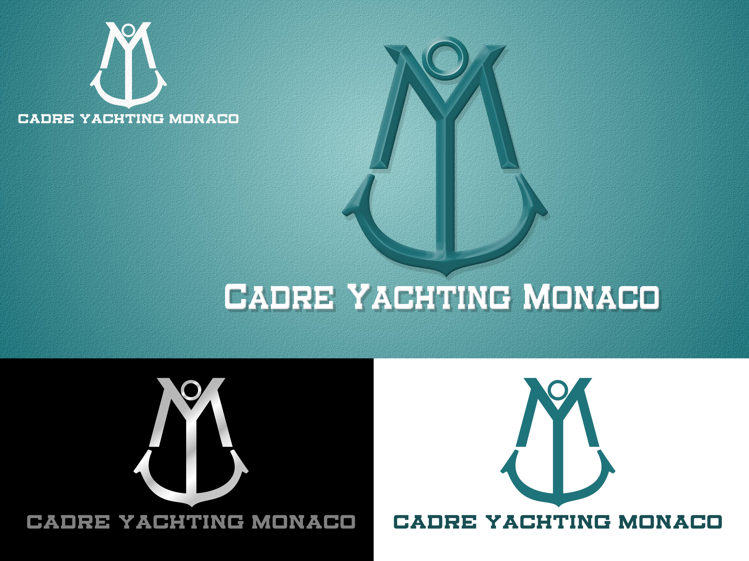 Logo Design by Private User - Entry No. 250 in the Logo Design Contest New Logo Design for Cadre Yachting Monaco.