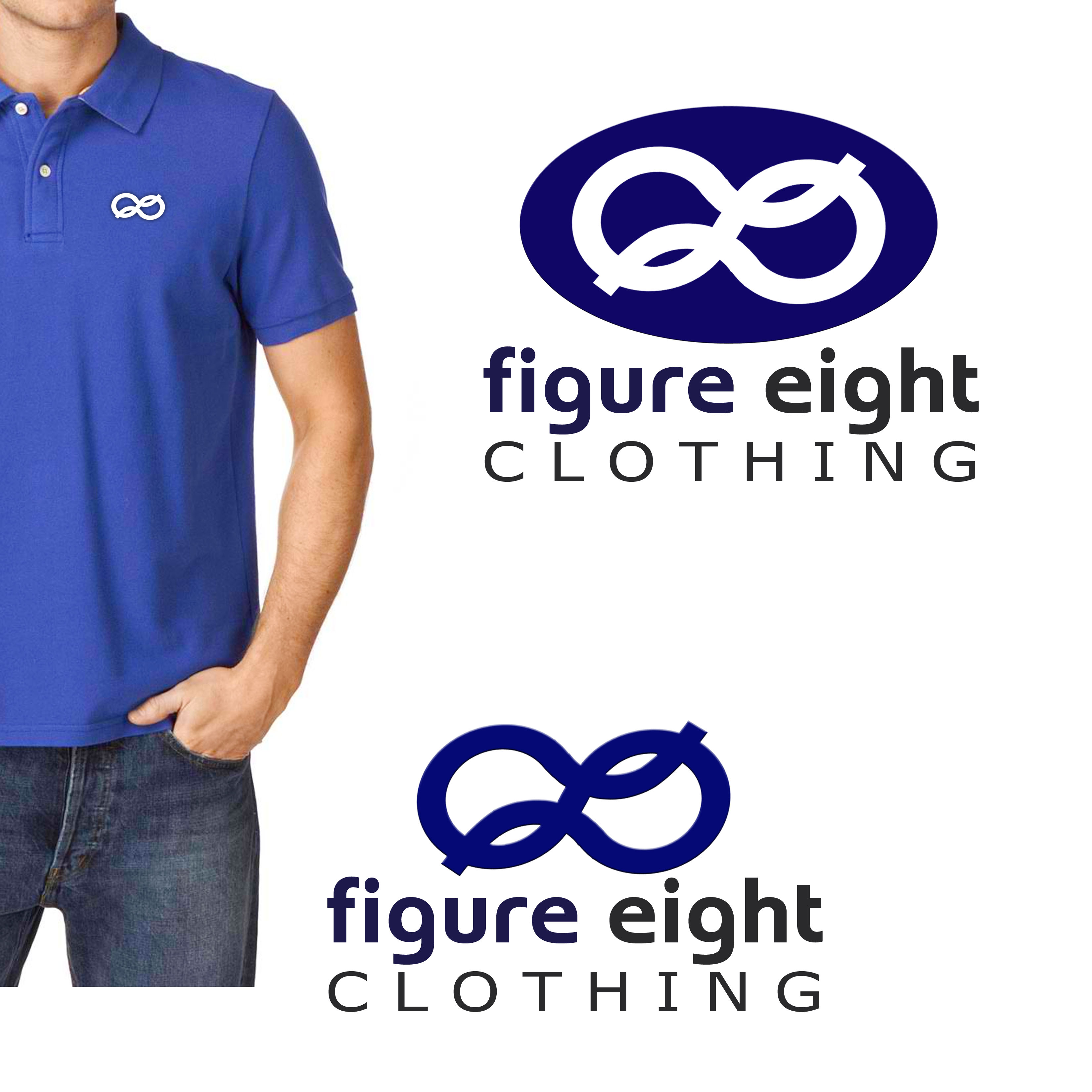 Logo Design by Alan Esclamado - Entry No. 1 in the Logo Design Contest Artistic Logo Design for Figure Eight Clothing.