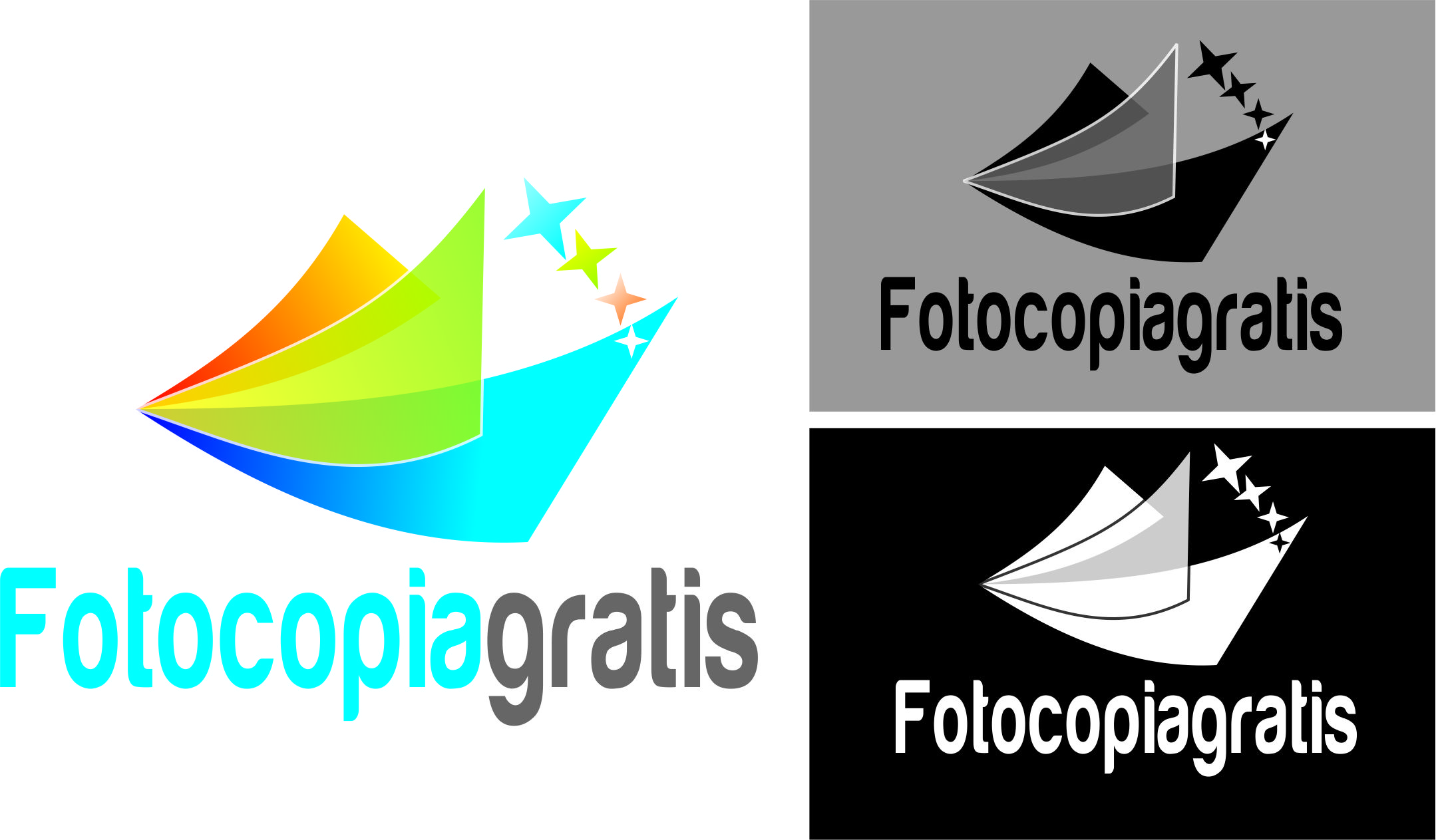 Logo Design by Private User - Entry No. 161 in the Logo Design Contest Inspiring Logo Design for Fotocopiagratis.