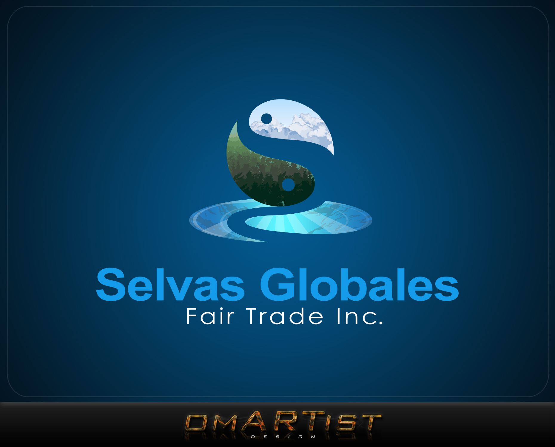 Logo Design by omARTist - Entry No. 128 in the Logo Design Contest Captivating Logo Design for Selvas Globales Fair Trade Inc..