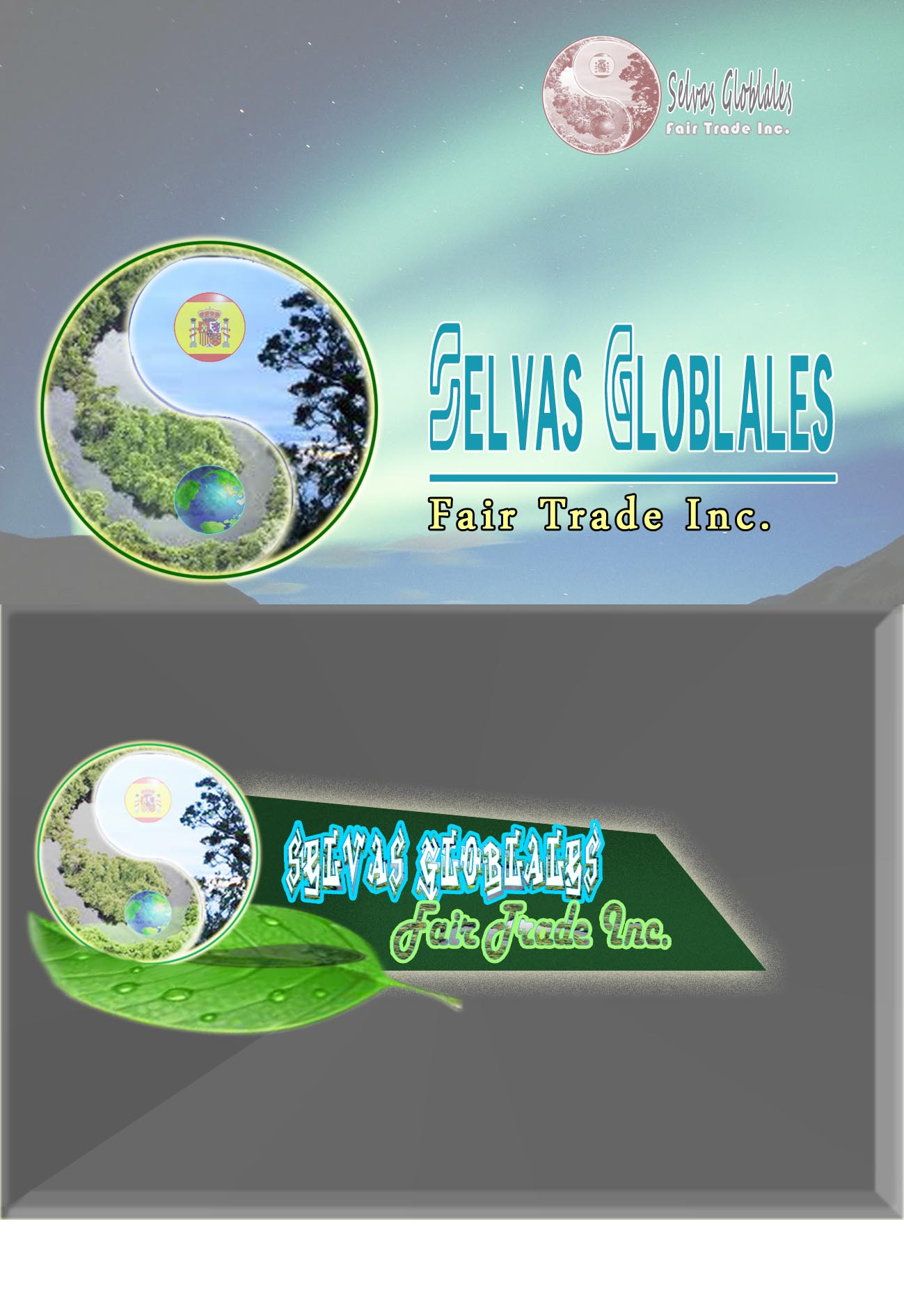 Logo Design by faza-bejo - Entry No. 130 in the Logo Design Contest Captivating Logo Design for Selvas Globales Fair Trade Inc..