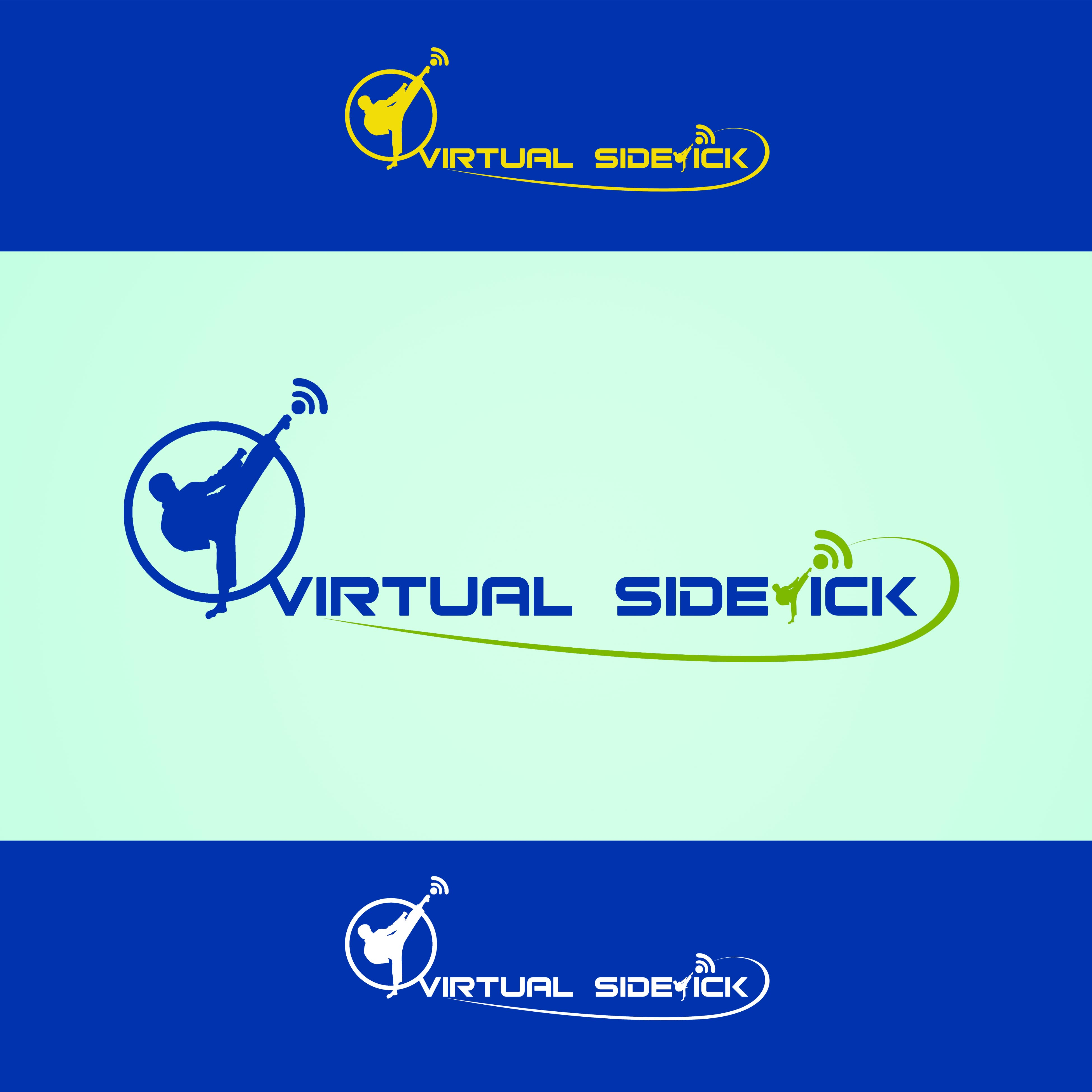 Logo Design by Cesar III Sotto - Entry No. 34 in the Logo Design Contest Fun Logo Design for Virtual Sidekick.