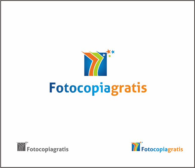 Logo Design by Armada Jamaluddin - Entry No. 166 in the Logo Design Contest Inspiring Logo Design for Fotocopiagratis.