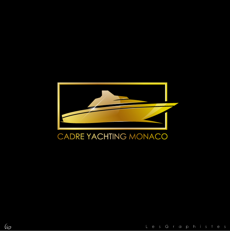 Logo Design by Les-Graphistes - Entry No. 253 in the Logo Design Contest New Logo Design for Cadre Yachting Monaco.