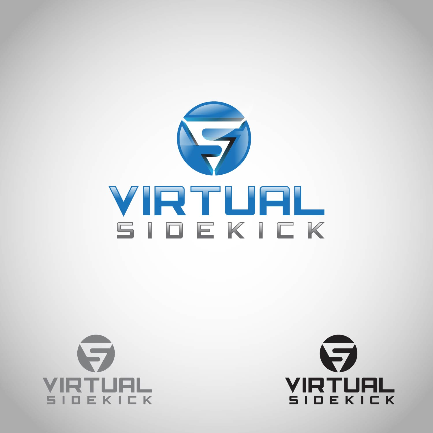 Logo Design by lagalag - Entry No. 35 in the Logo Design Contest Fun Logo Design for Virtual Sidekick.