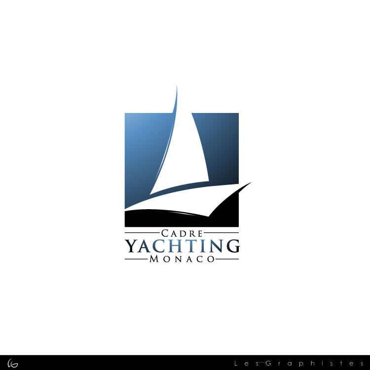 Logo Design by Les-Graphistes - Entry No. 260 in the Logo Design Contest New Logo Design for Cadre Yachting Monaco.