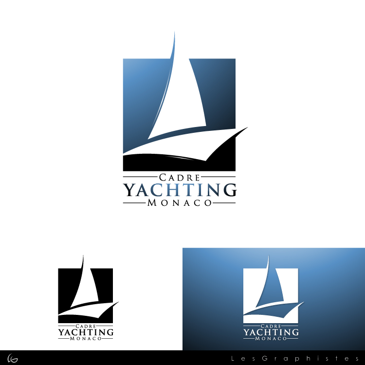 Logo Design by Les-Graphistes - Entry No. 261 in the Logo Design Contest New Logo Design for Cadre Yachting Monaco.