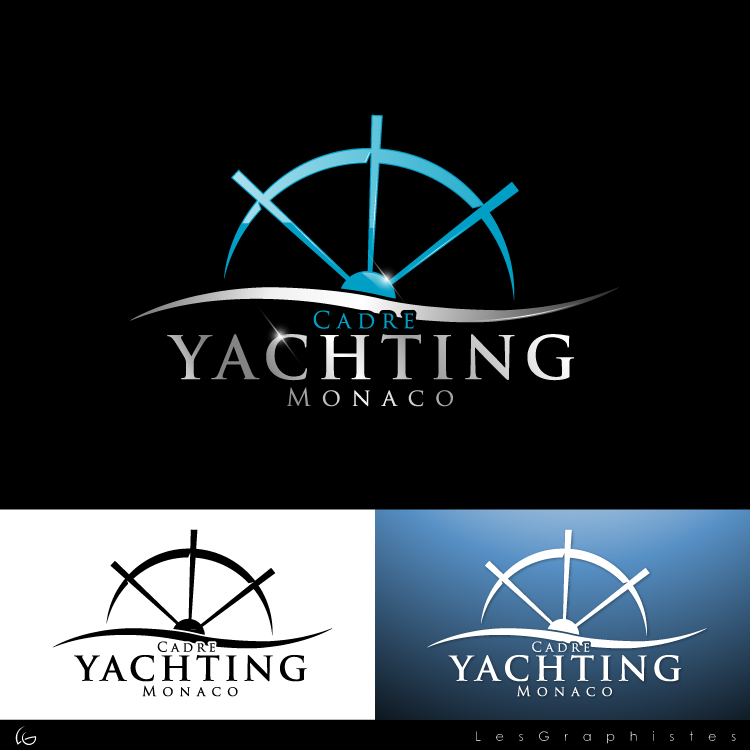 Logo Design by Les-Graphistes - Entry No. 266 in the Logo Design Contest New Logo Design for Cadre Yachting Monaco.