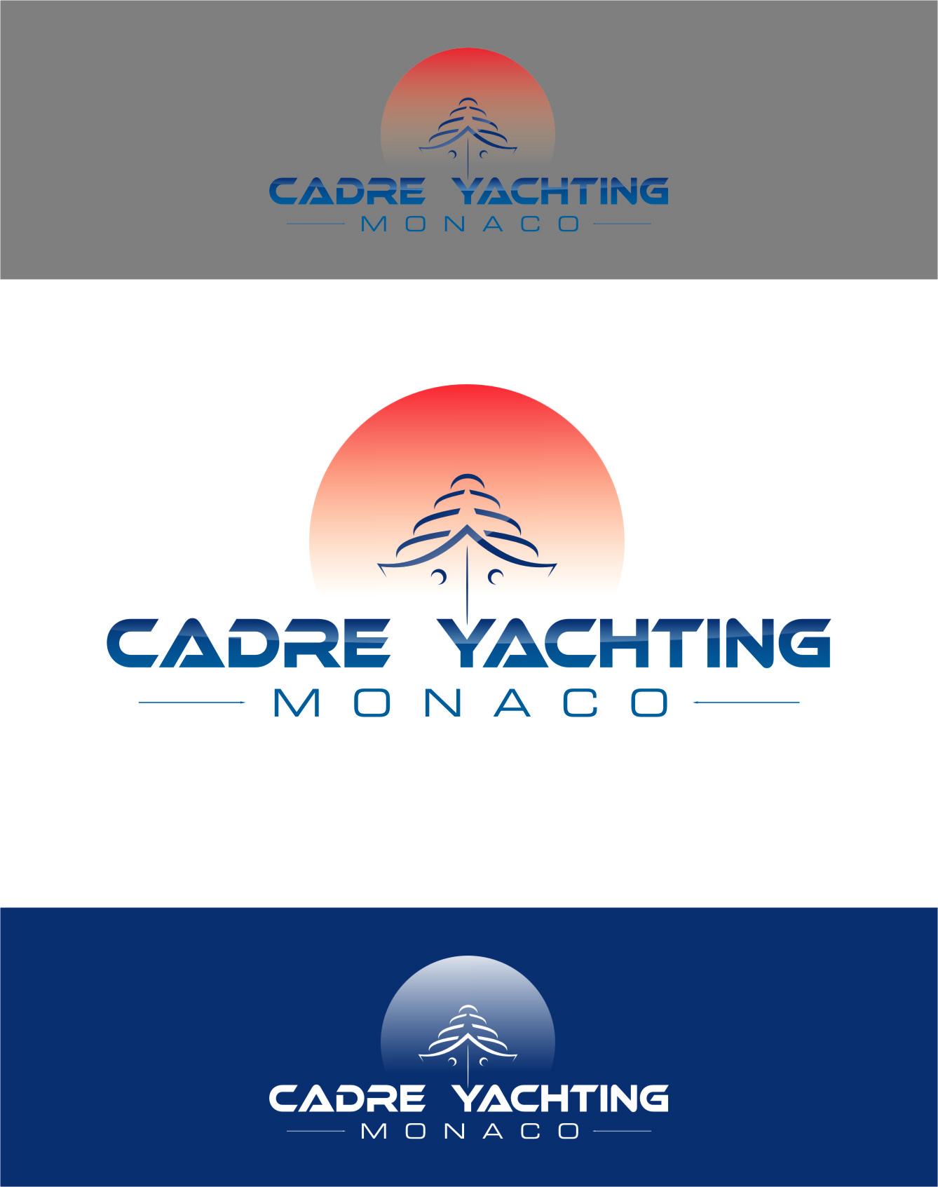 Logo Design by RasYa Muhammad Athaya - Entry No. 267 in the Logo Design Contest New Logo Design for Cadre Yachting Monaco.