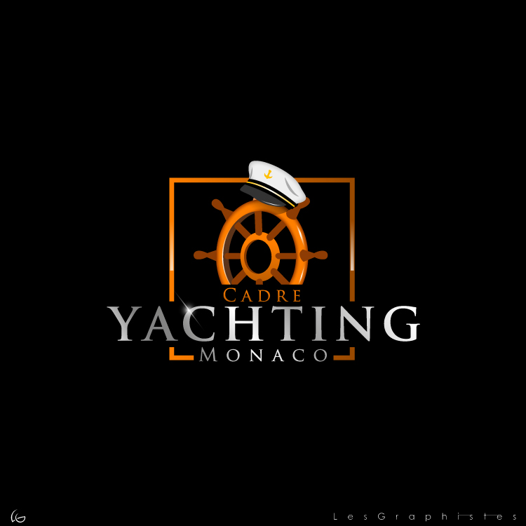 Logo Design by Les-Graphistes - Entry No. 269 in the Logo Design Contest New Logo Design for Cadre Yachting Monaco.
