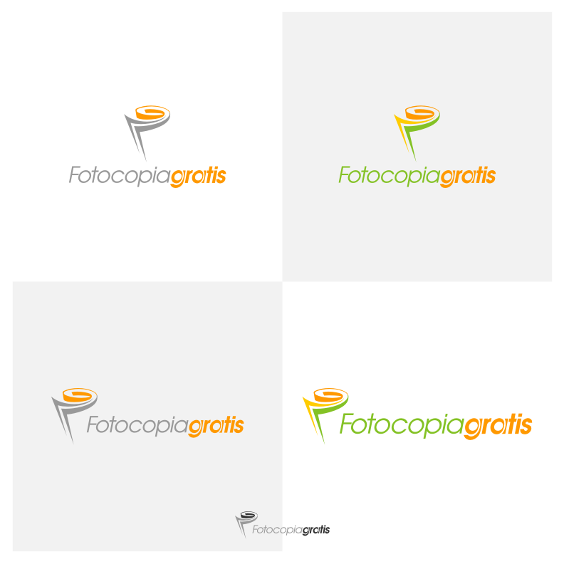 Logo Design by graphicleaf - Entry No. 171 in the Logo Design Contest Inspiring Logo Design for Fotocopiagratis.