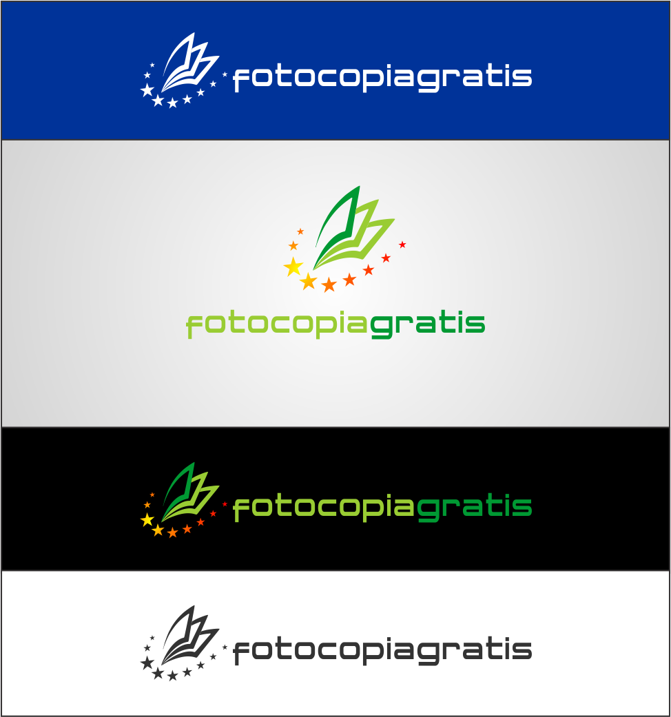 Logo Design by Agus Martoyo - Entry No. 174 in the Logo Design Contest Inspiring Logo Design for Fotocopiagratis.