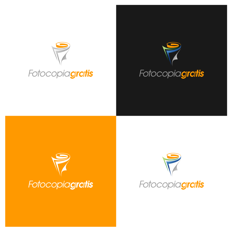 Logo Design by graphicleaf - Entry No. 176 in the Logo Design Contest Inspiring Logo Design for Fotocopiagratis.