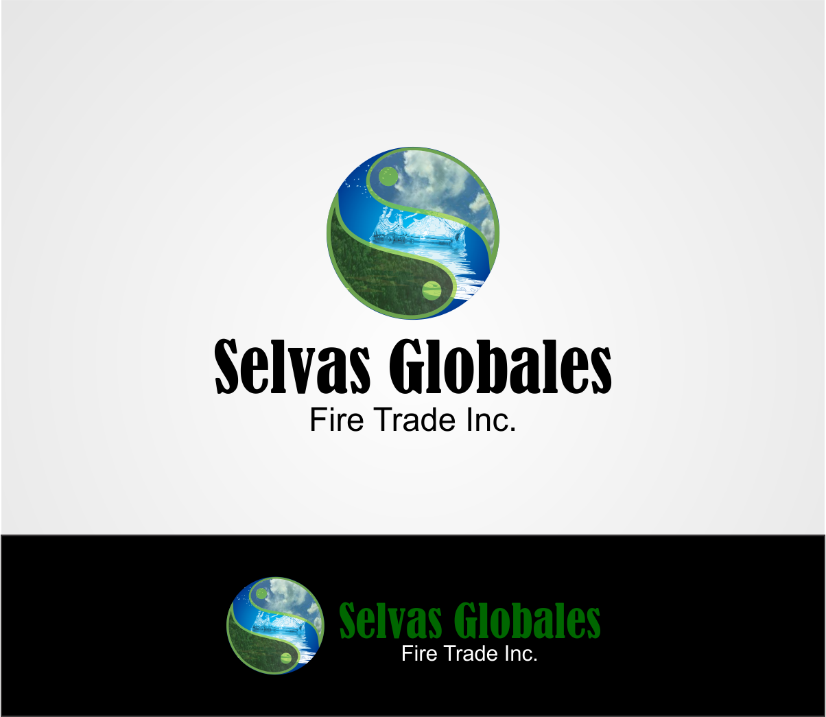 Logo Design by Agus Martoyo - Entry No. 131 in the Logo Design Contest Captivating Logo Design for Selvas Globales Fair Trade Inc..