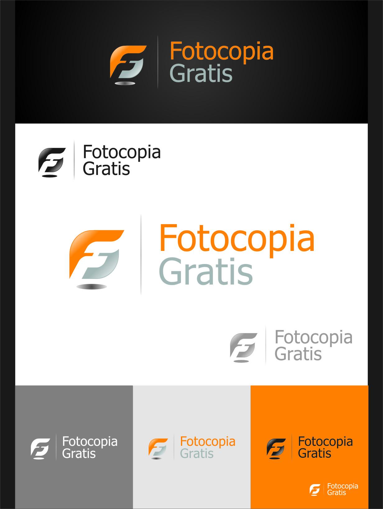 Logo Design by Ngepet_art - Entry No. 177 in the Logo Design Contest Inspiring Logo Design for Fotocopiagratis.
