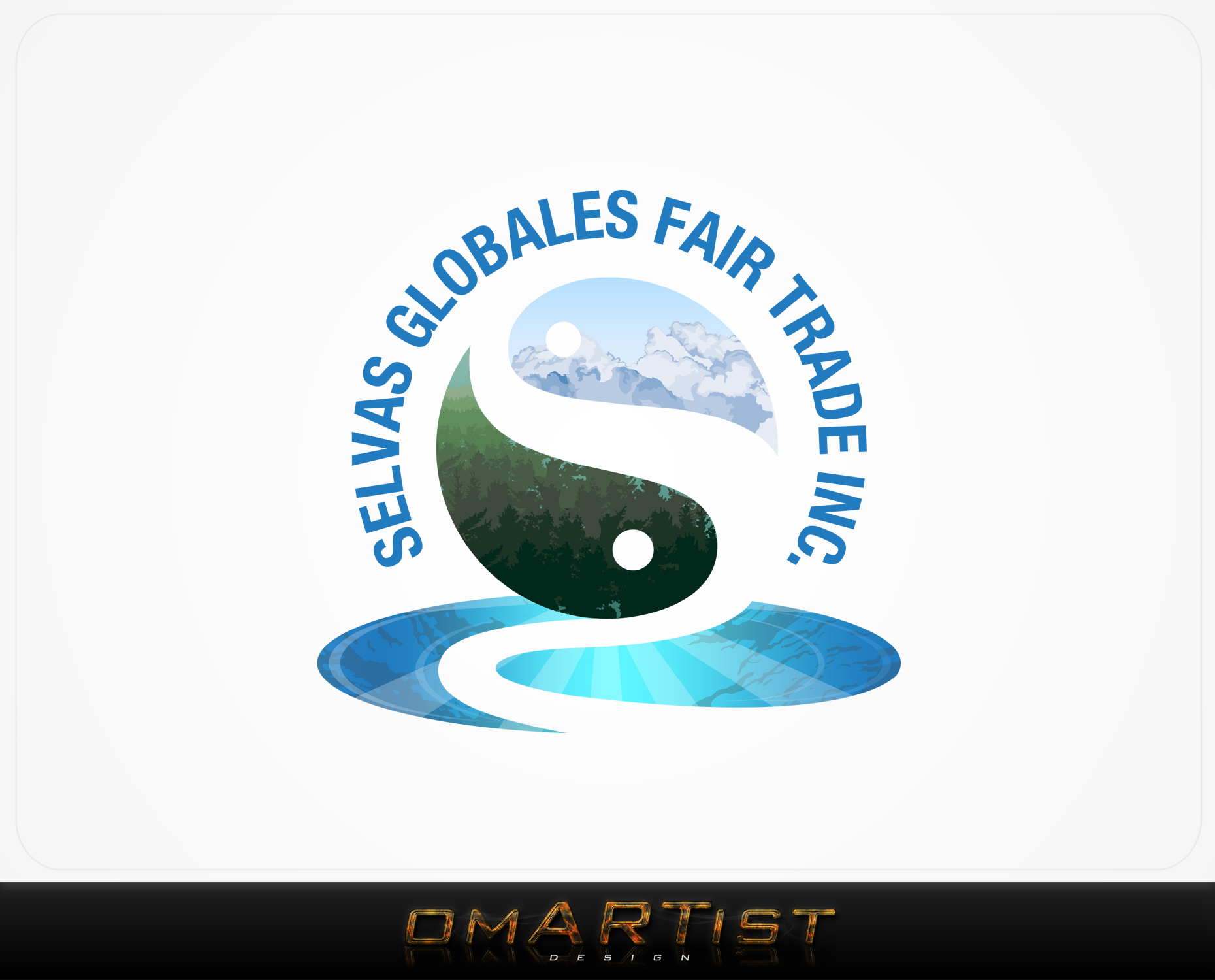 Logo Design by omARTist - Entry No. 134 in the Logo Design Contest Captivating Logo Design for Selvas Globales Fair Trade Inc..