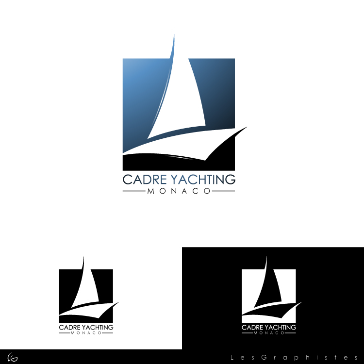 Logo Design by Les-Graphistes - Entry No. 289 in the Logo Design Contest New Logo Design for Cadre Yachting Monaco.
