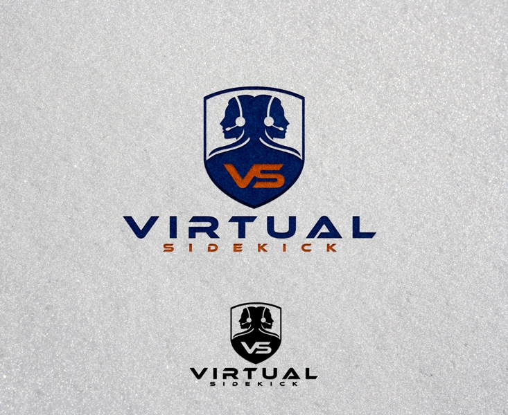Logo Design by Juan_Kata - Entry No. 46 in the Logo Design Contest Fun Logo Design for Virtual Sidekick.