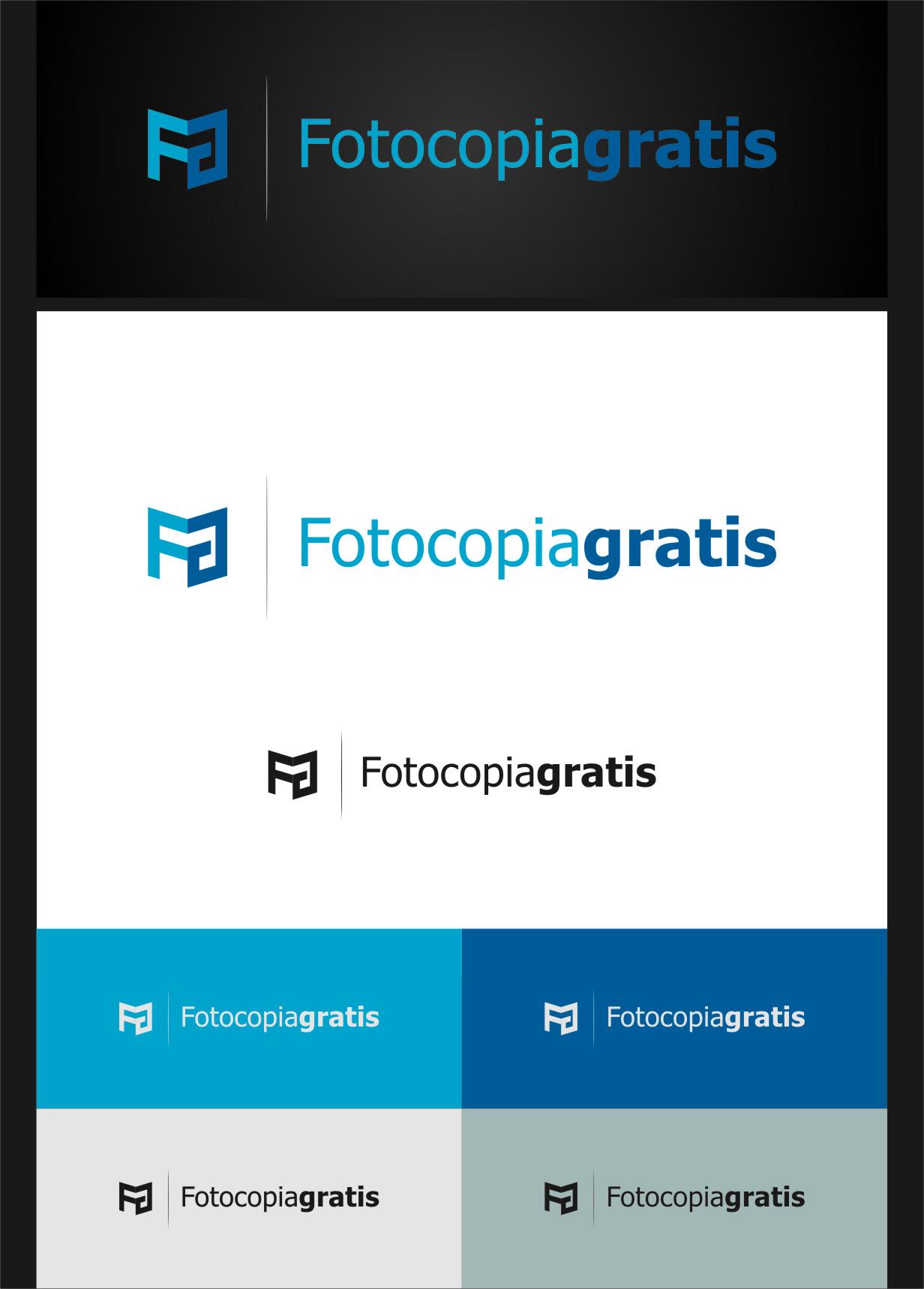 Logo Design by RasYa Muhammad Athaya - Entry No. 182 in the Logo Design Contest Inspiring Logo Design for Fotocopiagratis.