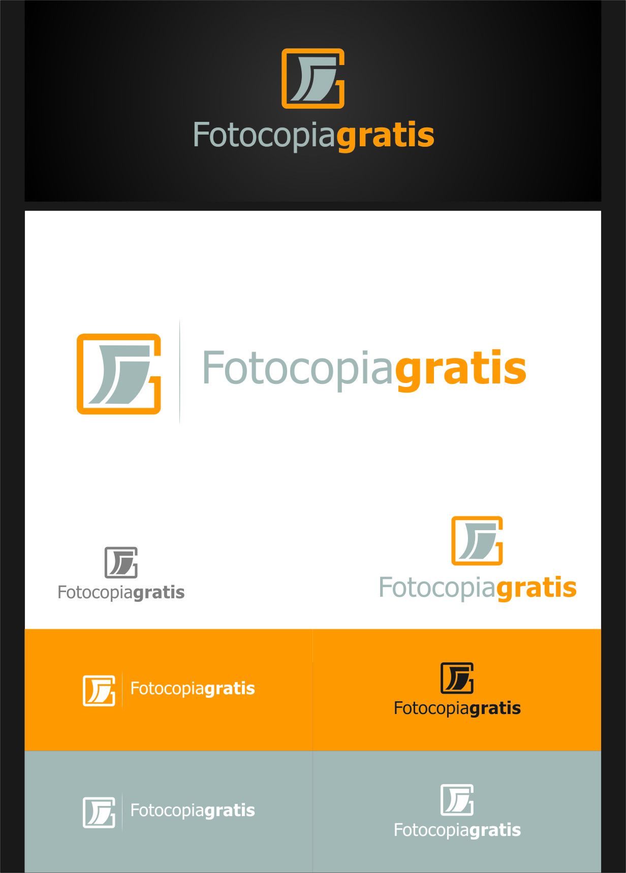 Logo Design by Ngepet_art - Entry No. 186 in the Logo Design Contest Inspiring Logo Design for Fotocopiagratis.