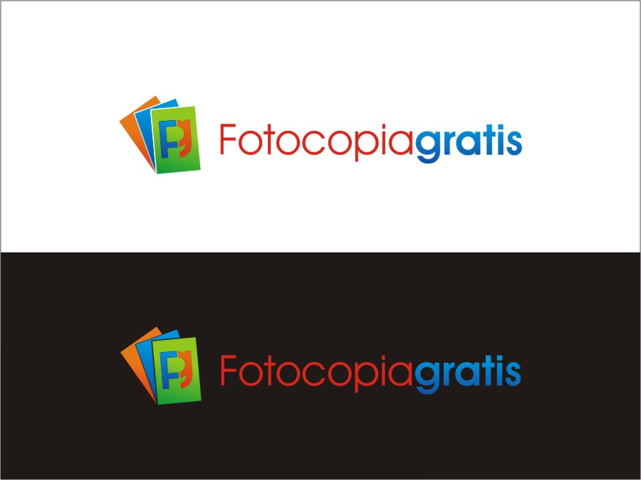 Logo Design by RED HORSE design studio - Entry No. 187 in the Logo Design Contest Inspiring Logo Design for Fotocopiagratis.