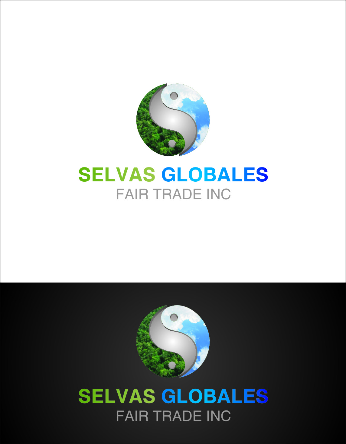 Logo Design by Ngepet_art - Entry No. 139 in the Logo Design Contest Captivating Logo Design for Selvas Globales Fair Trade Inc..