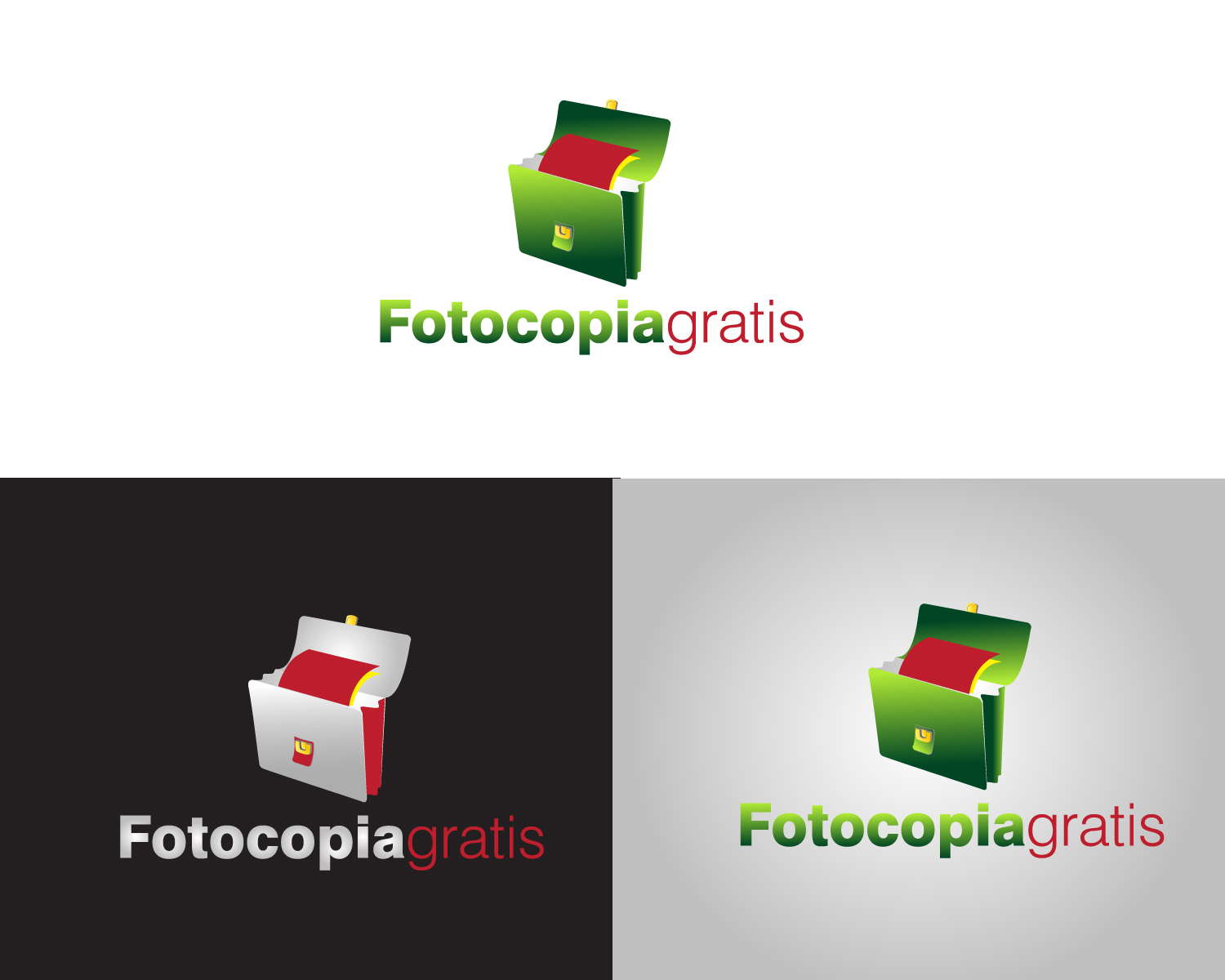 Logo Design by Jagdeep Singh - Entry No. 190 in the Logo Design Contest Inspiring Logo Design for Fotocopiagratis.