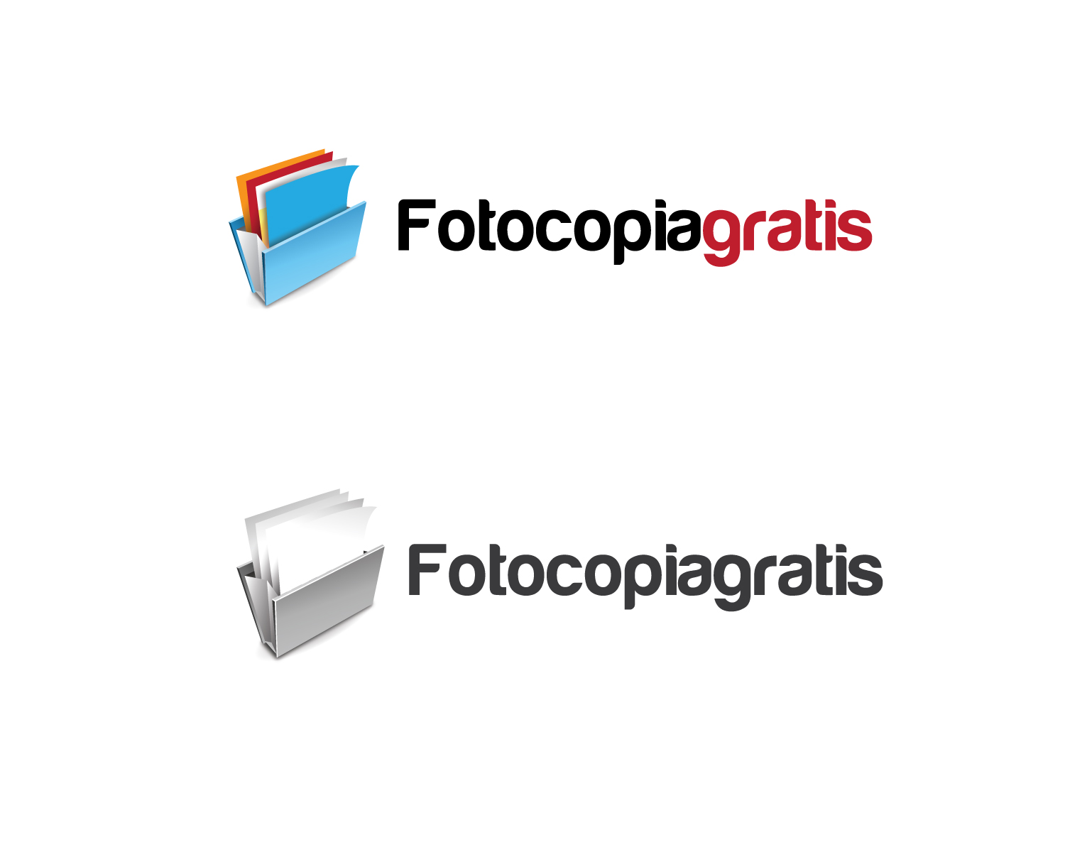 Logo Design by Jagdeep Singh - Entry No. 191 in the Logo Design Contest Inspiring Logo Design for Fotocopiagratis.