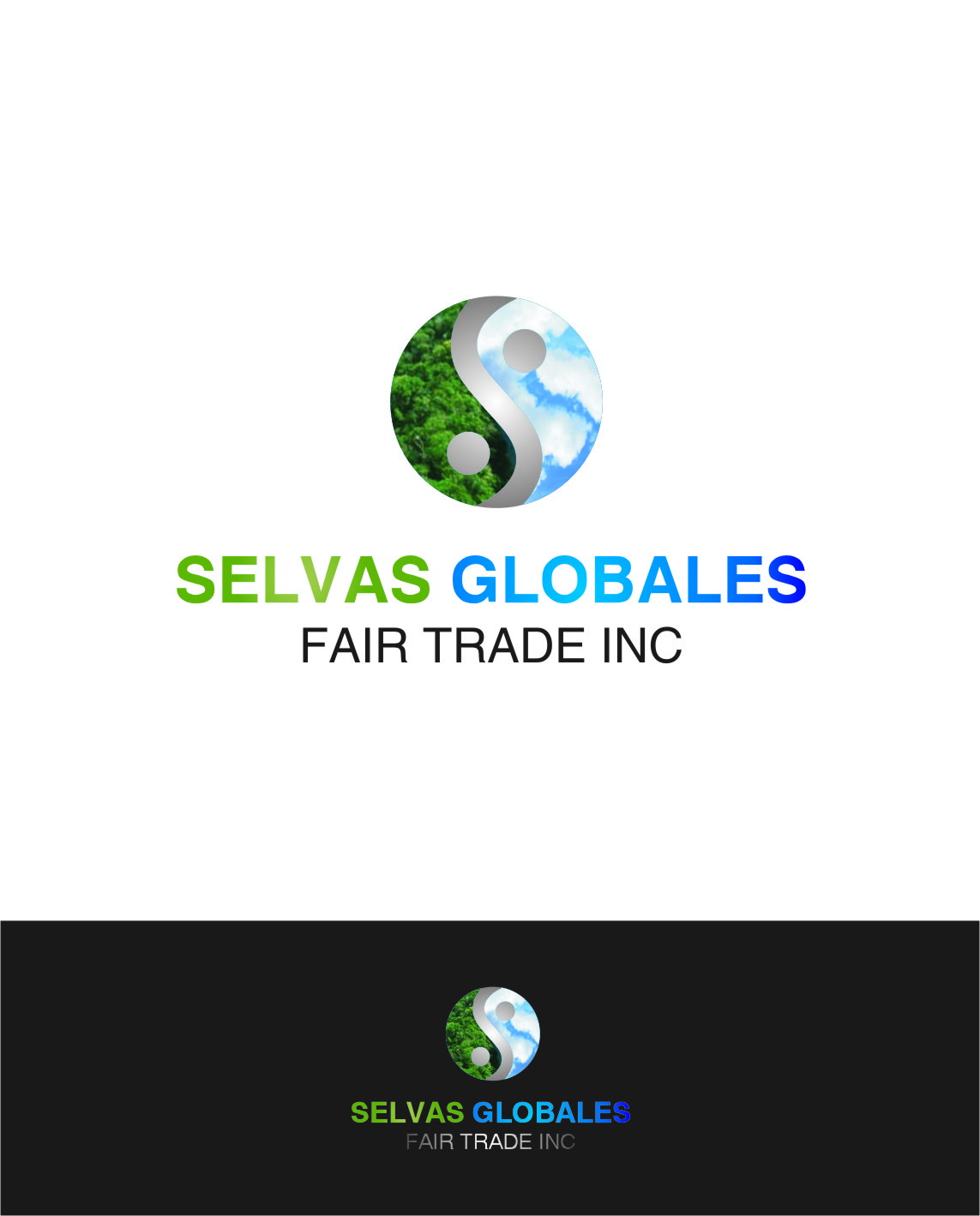 Logo Design by Ngepet_art - Entry No. 143 in the Logo Design Contest Captivating Logo Design for Selvas Globales Fair Trade Inc..
