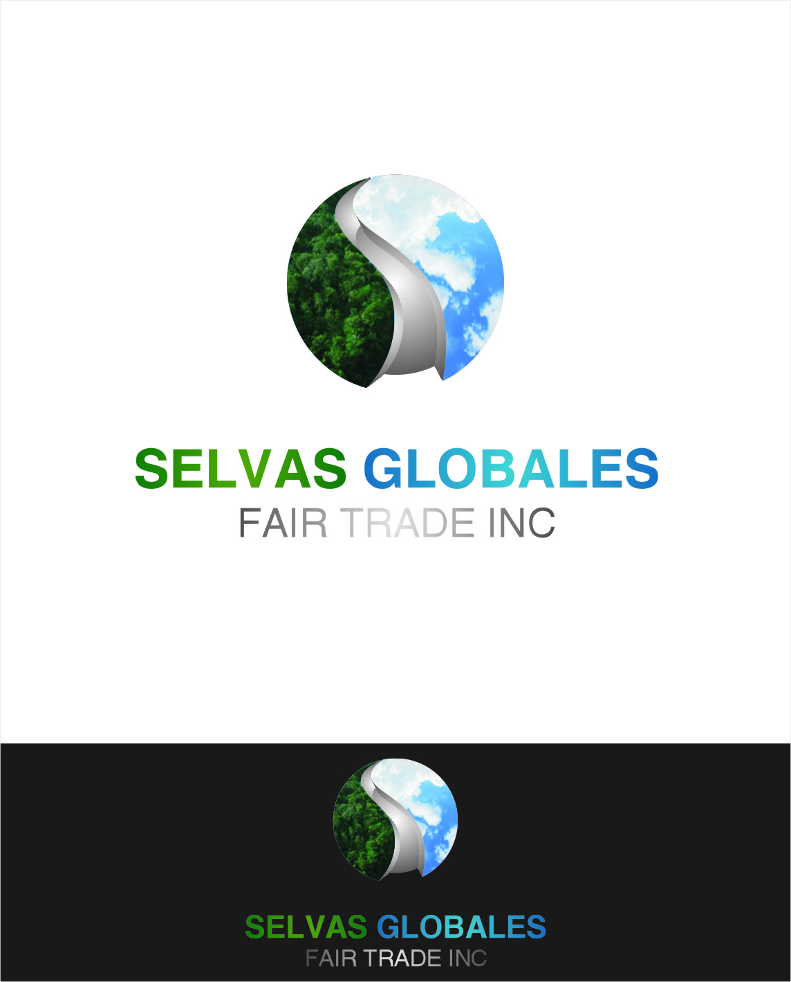 Logo Design by RasYa Muhammad Athaya - Entry No. 144 in the Logo Design Contest Captivating Logo Design for Selvas Globales Fair Trade Inc..
