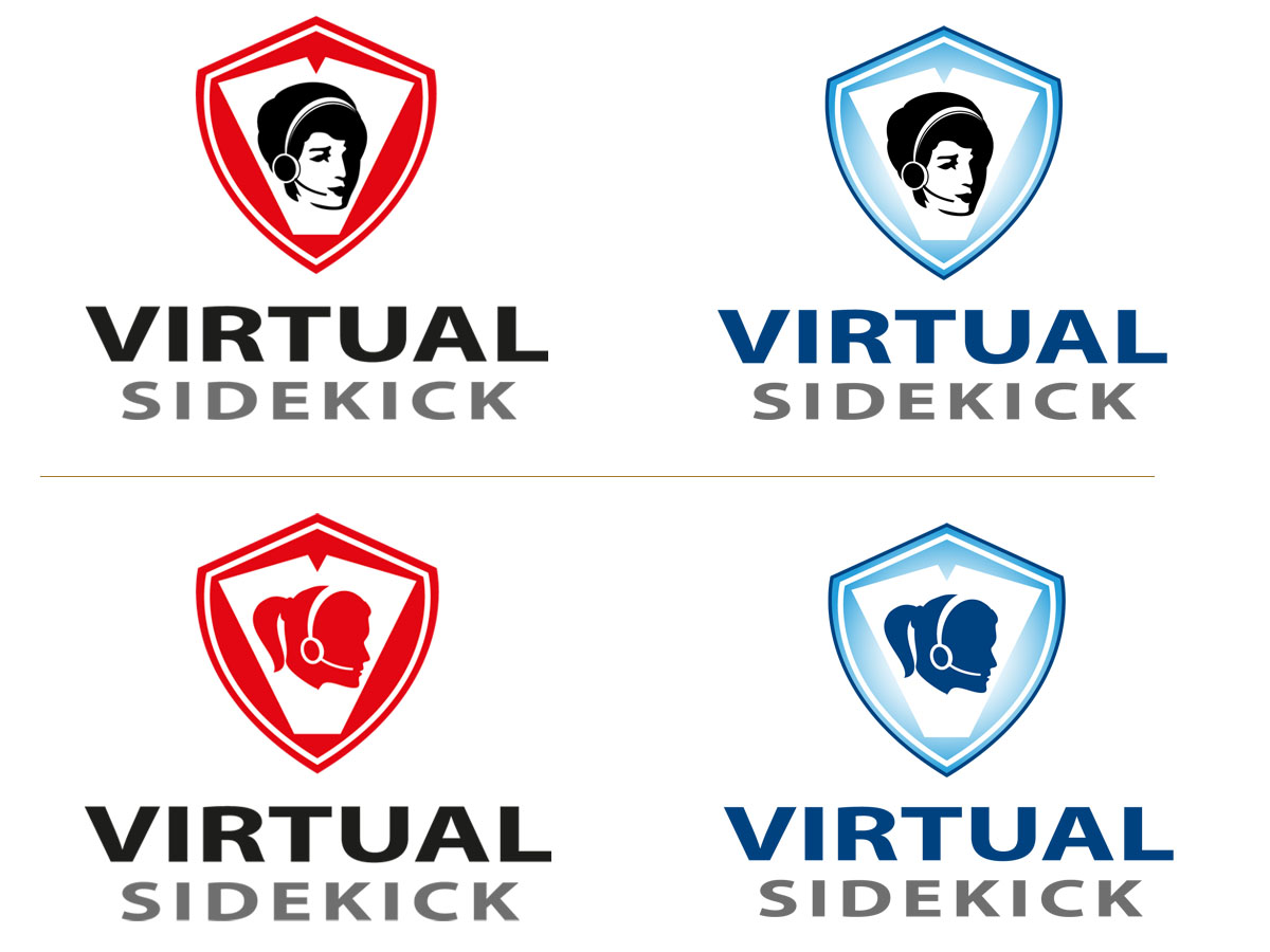Logo Design by Joseph Andre Marinas - Entry No. 47 in the Logo Design Contest Fun Logo Design for Virtual Sidekick.