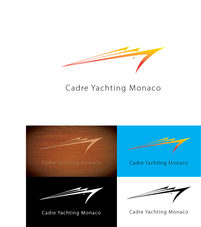 Logo Design by Chris Cowan - Entry No. 302 in the Logo Design Contest New Logo Design for Cadre Yachting Monaco.