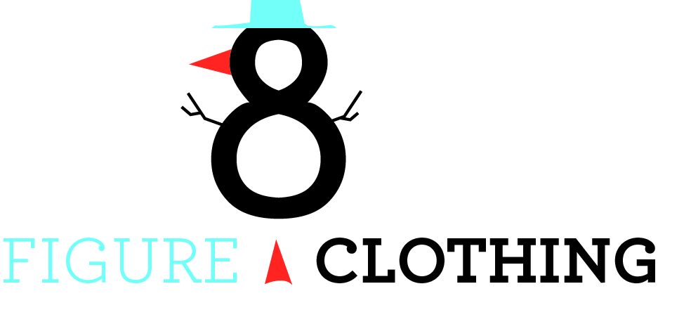 Logo Design by NiharikaGraphics - Entry No. 12 in the Logo Design Contest Artistic Logo Design for Figure Eight Clothing.