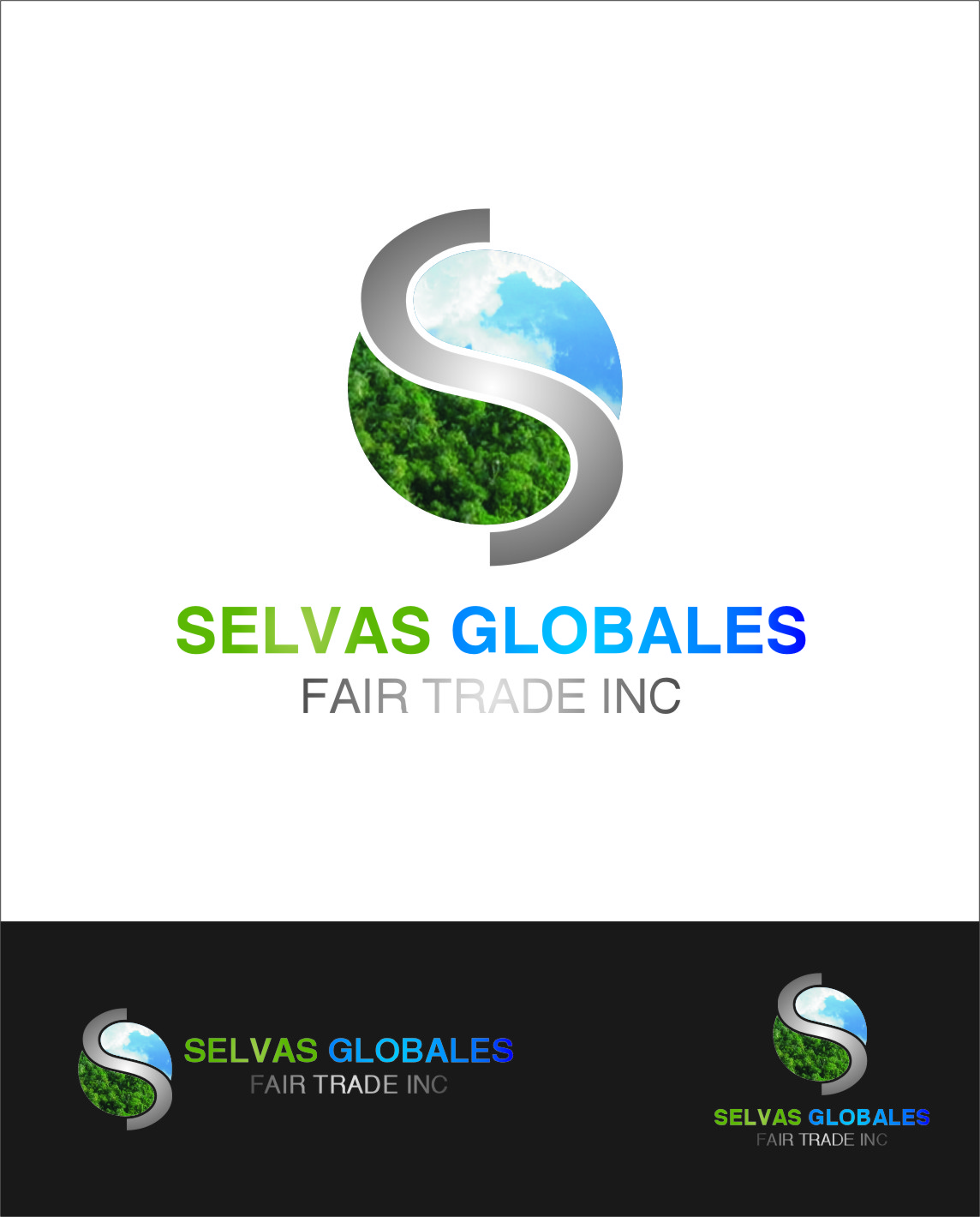 Logo Design by RasYa Muhammad Athaya - Entry No. 145 in the Logo Design Contest Captivating Logo Design for Selvas Globales Fair Trade Inc..
