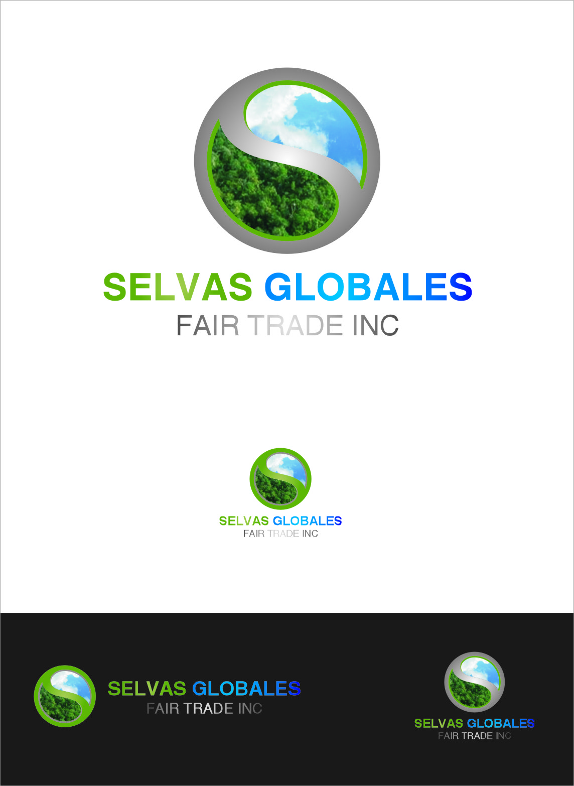 Logo Design by RasYa Muhammad Athaya - Entry No. 146 in the Logo Design Contest Captivating Logo Design for Selvas Globales Fair Trade Inc..