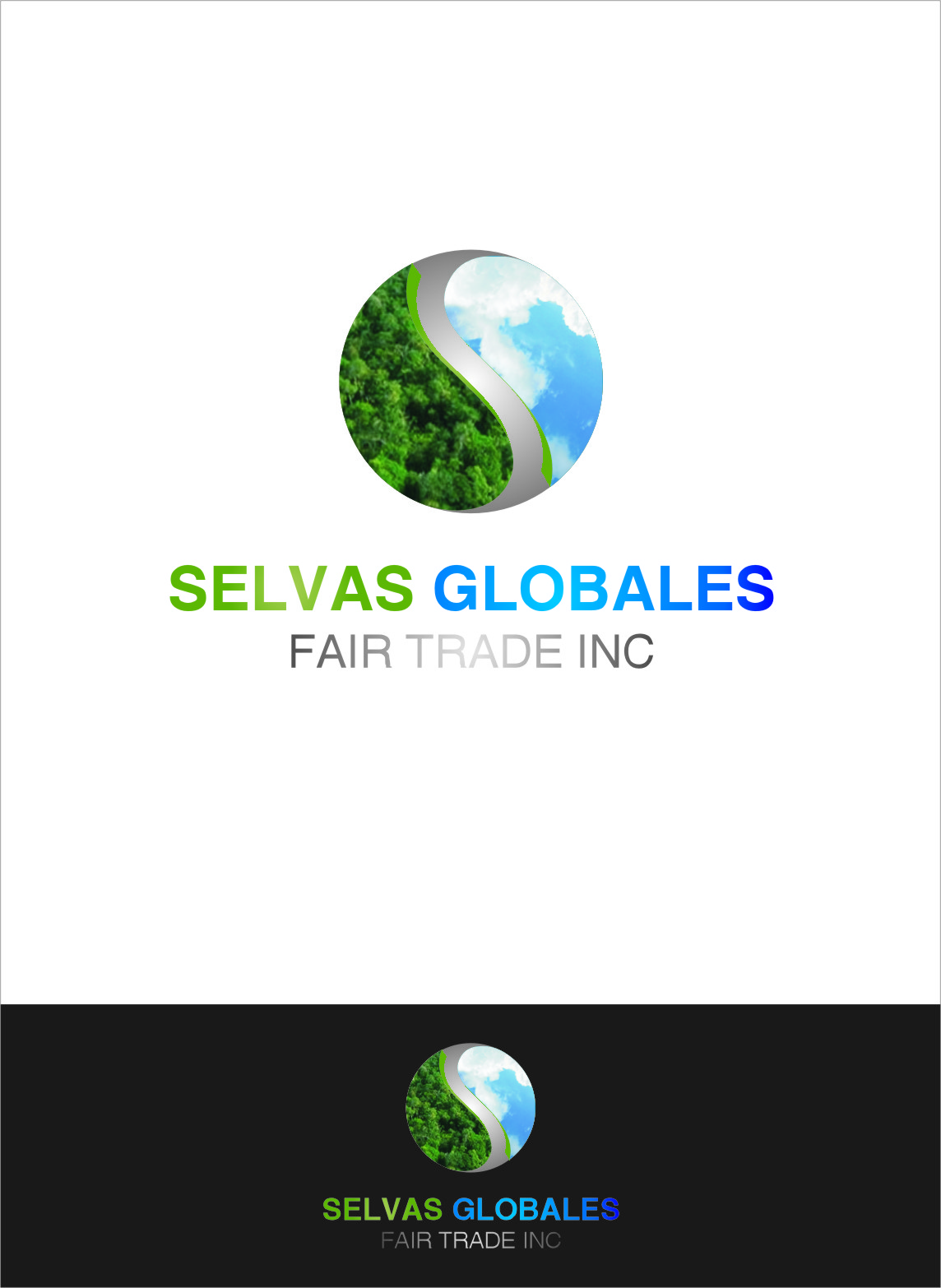 Logo Design by RasYa Muhammad Athaya - Entry No. 148 in the Logo Design Contest Captivating Logo Design for Selvas Globales Fair Trade Inc..