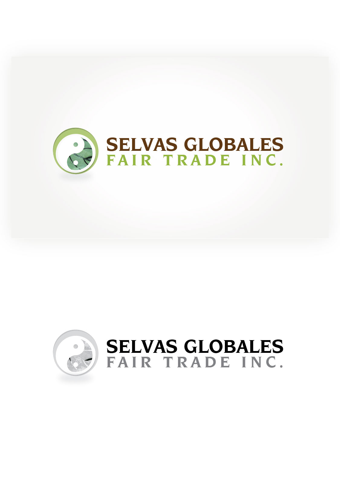 Logo Design by Gnnosch - Entry No. 153 in the Logo Design Contest Captivating Logo Design for Selvas Globales Fair Trade Inc..