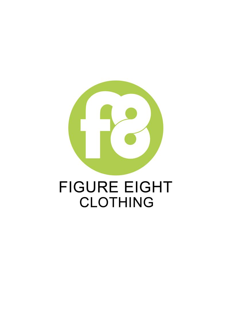 Logo Design by Robert Turla - Entry No. 16 in the Logo Design Contest Artistic Logo Design for Figure Eight Clothing.