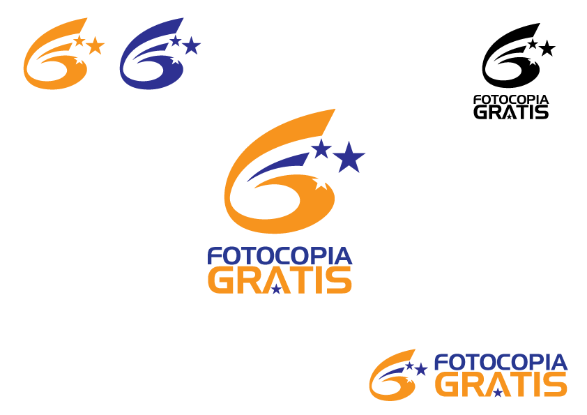 Logo Design by Severiano Fernandes - Entry No. 193 in the Logo Design Contest Inspiring Logo Design for Fotocopiagratis.