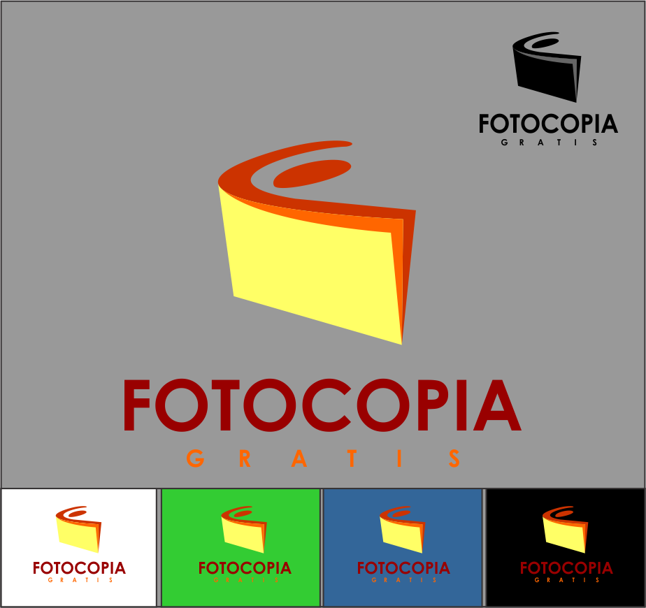 Logo Design by Agus Martoyo - Entry No. 194 in the Logo Design Contest Inspiring Logo Design for Fotocopiagratis.