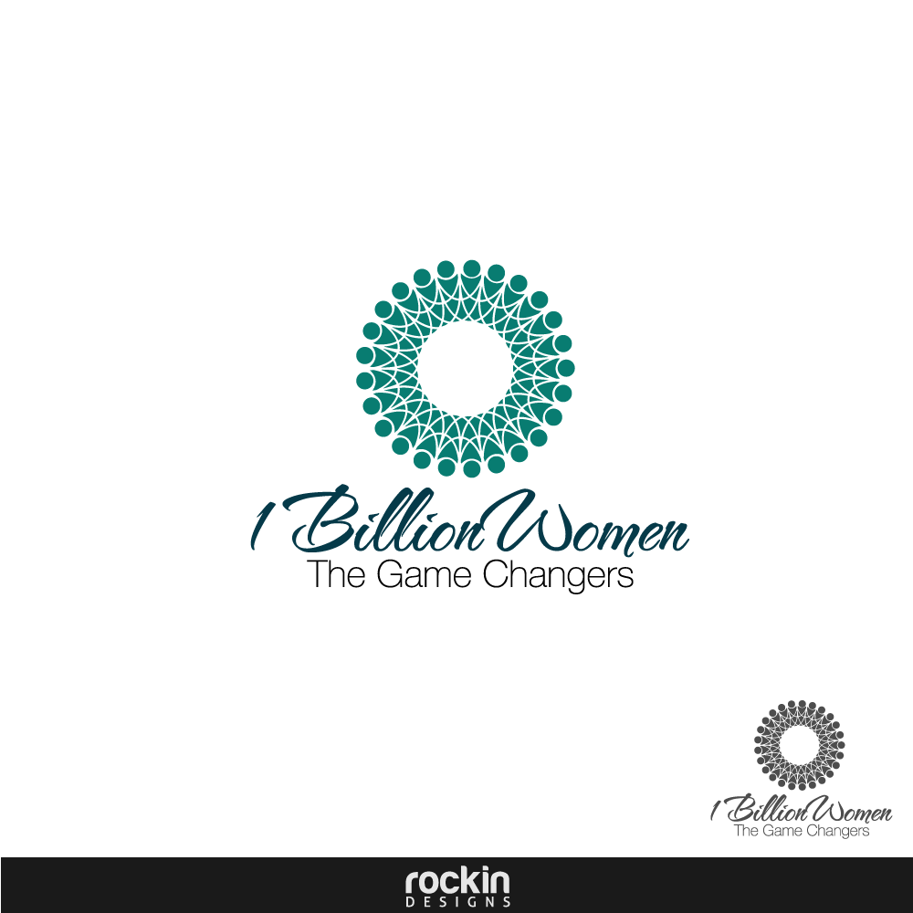 Logo Design by rockin - Entry No. 14 in the Logo Design Contest Fun Logo Design for 1BillionWomen.
