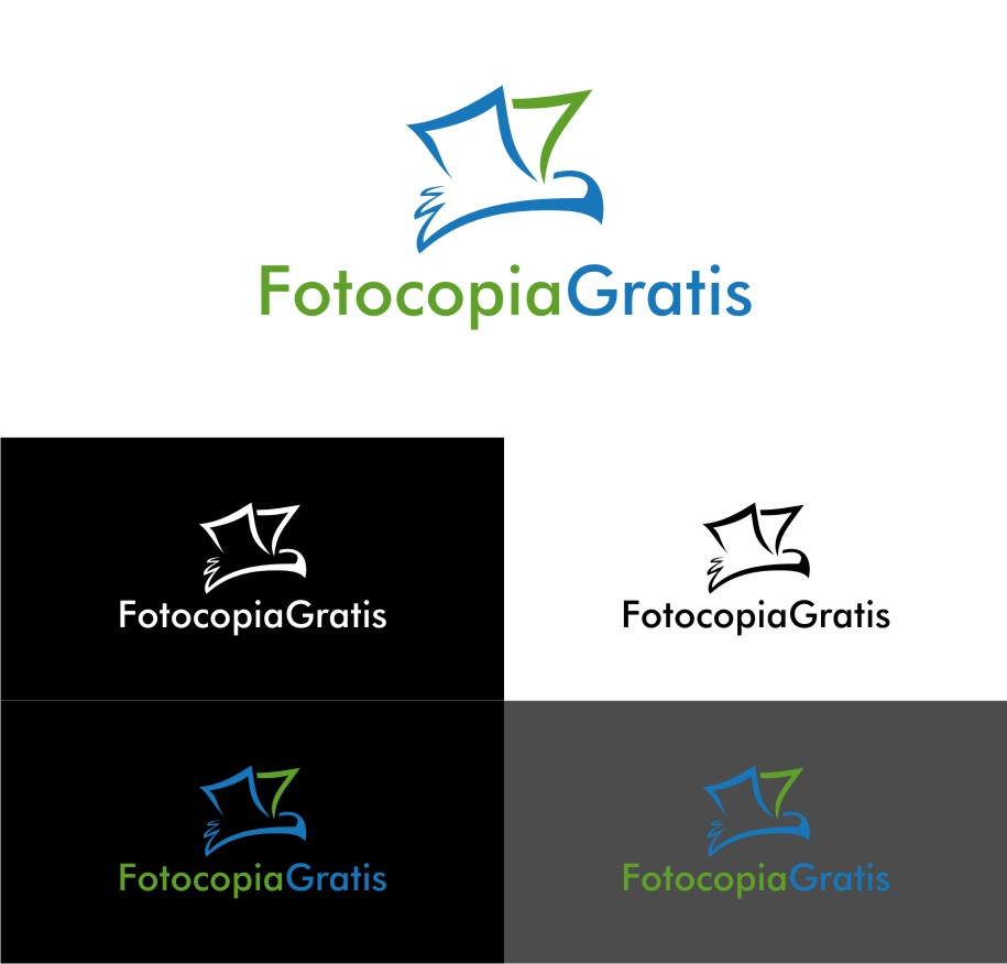 Logo Design by untung - Entry No. 195 in the Logo Design Contest Inspiring Logo Design for Fotocopiagratis.