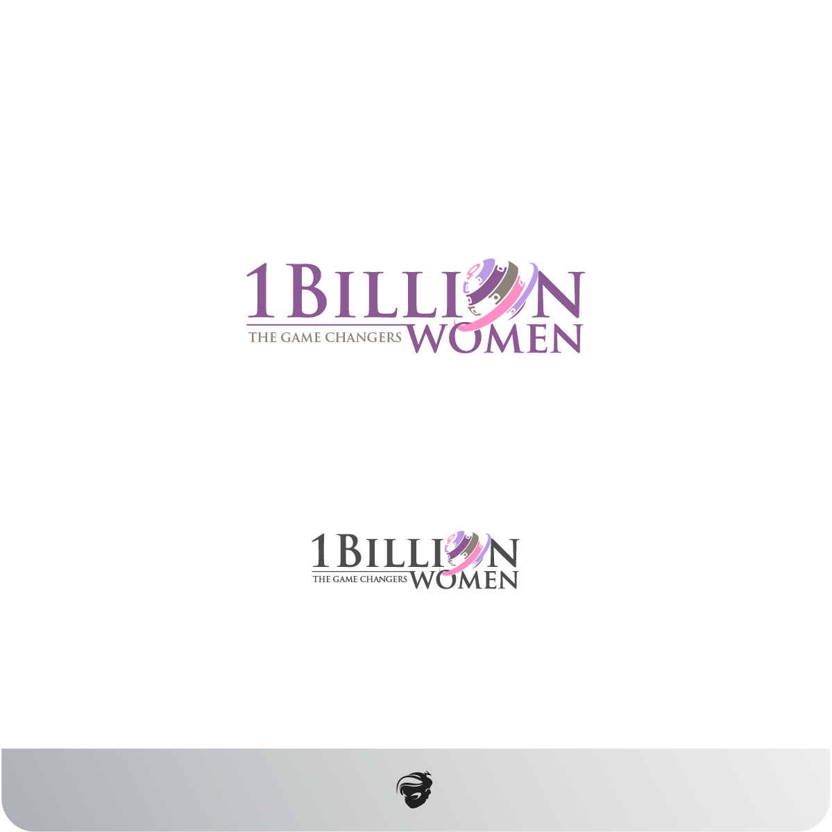 Logo Design by zesthar - Entry No. 18 in the Logo Design Contest Fun Logo Design for 1BillionWomen.