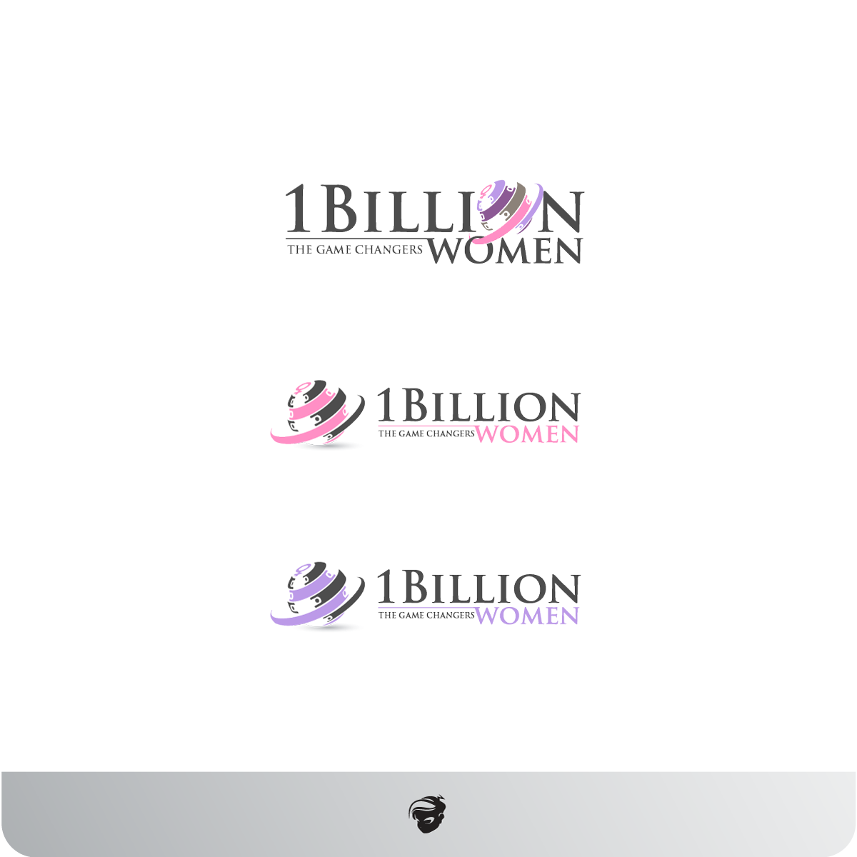 Logo Design by zesthar - Entry No. 19 in the Logo Design Contest Fun Logo Design for 1BillionWomen.