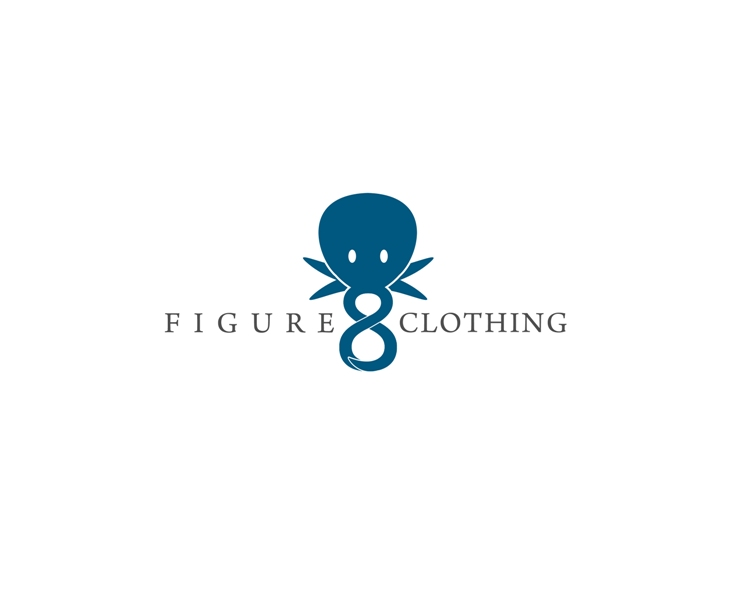 Logo Design by Juan_Kata - Entry No. 17 in the Logo Design Contest Artistic Logo Design for Figure Eight Clothing.
