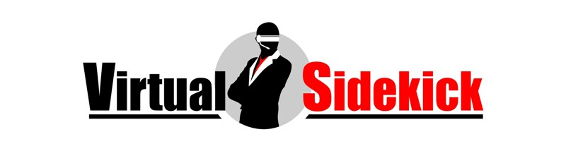 Logo Design by Crispin Jr Vasquez - Entry No. 50 in the Logo Design Contest Fun Logo Design for Virtual Sidekick.